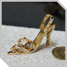 크리스탈존 3D크리스탈 Temptation - Gold High Heels